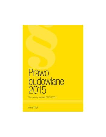 Prawo Budowlane 2015