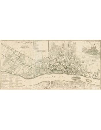Plan Warszawy 1768