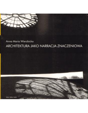 """Zeszyt """"Architektura"""" nr..."""